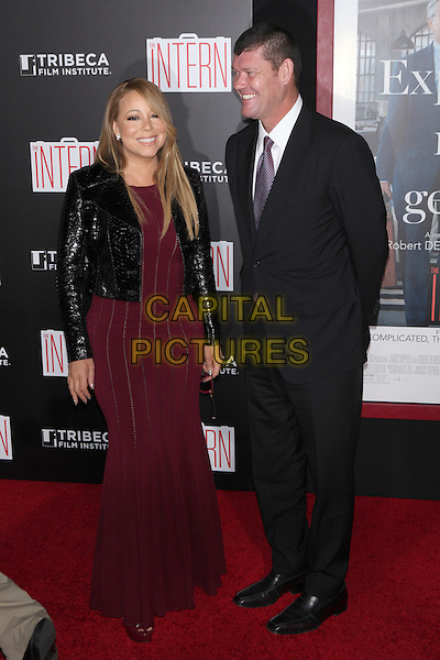NEW YORK, NY - SEPTEMBER 21: Mariah Carey at The New York Premiere of Warner Bros. Pictures&rsquo; The Intern to benefit the Tribeca Film Institute at The Ziegfield Theater in New York City on September 21, 2015. <br /> CAP/MPI99<br /> &copy;MPI99/Capital Pictures