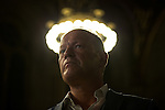 © Joel Goodman - 07973 332324 . 23/06/2016 . Manchester , UK . SIMON DANCZUK , MP for Rochdale , at the declaration in The Great Hall , in the EU referendum at Manchester Town Hall . Photo credit : Joel Goodman