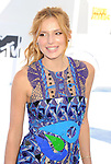 LOS ANGELES, CA - APRIL 12:  Actress Bella Thorne arrives at the 2015 MTV Movie Awards at Nokia Theatre L.A. Live on April 12, 2015 in Los Angeles, California.