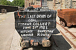 Rhondda Heritage Park, Trehafod, Rhondda, South Wales, UK - last coal from Tymawr colliery 1983
