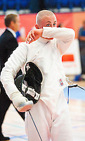 13 AUG 2009 - LONDON, GBR - Steven Mason (GBR) - Mens World Modern Pentathlon Championship Qualifiers (PHOTO (C) NIGEL FARROW)