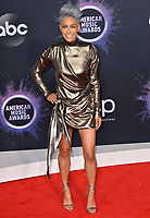 LOS ANGELES, USA. November 25, 2019: Sibley Scoles at the 2019 American Music Awards at the Microsoft Theatre LA Live.<br /> Picture: Paul Smith/Featureflash