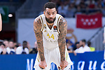 Jeffrey Taylor during Real Madrid vs Maccabi Fox of Day 2 of Euroleague Basketball. October 10, 2019. (ALTERPHOTOS/Francis Gonzalez)