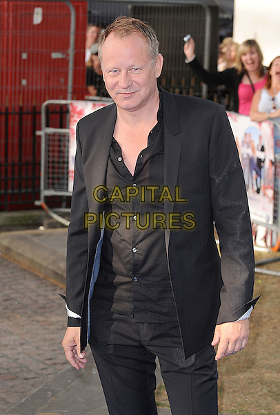 "STELLAN SKARSGARD.Attending the World Premiere of ""Mamma Mia!"" Odeon Leicester Square, London, England, 30th June 2008..arrivals half length black shirt suit jacket.CAP/BEL.©Tom Belcher/Capital Pictures"