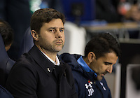 Tottenham Hotspur Manager Mauricio Pochettino during the UEFA Europa League Group J match between Tottenham Hotspur and R.S.C. Anderlecht at White Hart Lane, London, England on 5 November 2015. Photo by Andy Rowland.