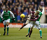9.3.2018: Hibs v Hearts:<br /> Lewis Moore and Martin Boyle