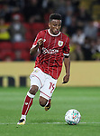 Bristol City's Niclas Elisson in action during the Carabao cup match at Vicarage Road Stadium, Watford. Picture date 22nd August 2017. Picture credit should read: David Klein/Sportimage