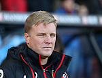 Bournemouth's Eddie Howe looks on during the Premier League match at the Vitality Stadium, London. Picture date December 4th, 2016 Pic David Klein/Sportimage