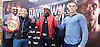 Floyd Mayweather Jr &amp; Frank Warren press conference at The Savoy Hotel, London, Great Britain <br /> 7th March 2017 <br /> <br /> <br /> Leonard Ellerbe <br /> (CEO of Mayweather Promotions)<br /> <br /> Gervonta Davis <br /> (an American professional boxer who has held the IBF junior lightweight title since January 2017)<br /> <br /> <br /> Floyd Joy Mayweather Jr. is an American former professional boxer who competed from 1996 to 2015 and currently works as a boxing promoter. <br /> <br /> Frank Warren <br /> Boxing Promoter <br /> Liam Walsh <br /> (a British professional boxer and the current Commonwealth super featherweight champion)<br /> <br /> <br /> <br /> <br /> Photograph by Elliott Franks <br /> Image licensed to Elliott Franks Photography Services