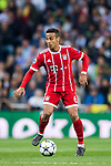Thiago Alcantara of FC Bayern Munich in action during the UEFA Champions League Semi-final 2nd leg match between Real Madrid and Bayern Munich at the Estadio Santiago Bernabeu on May 01 2018 in Madrid, Spain. Photo by Diego Souto / Power Sport Images