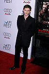 """HOLLYWOOD, CA. - November 09: Actor Jamie Bell arrives at the 2008 AFI Film Festival Presents """"Defiance"""" at The ArcLight Cinemas on November 9, 2008 in Hollywood, California."""