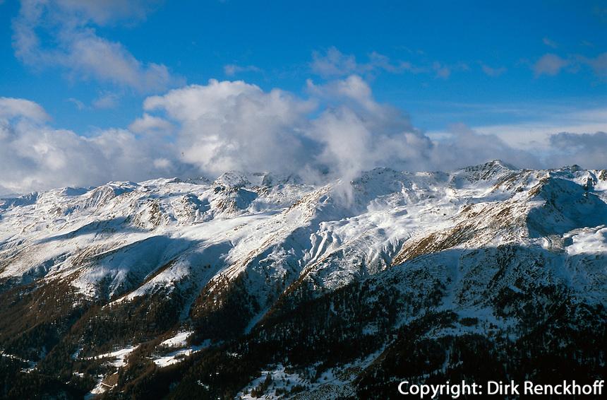 Österreich, Berge bei Nauders in Nordtirol
