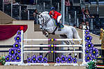 Day 4. Royal Windsor Horse Show. Windsor. Berkshire. UK.  Accumulator 2* Sponsored by ClipMyHorse.  Scarlett Slater riding Flawless.GBR.12/05/2018. ~ MANDATORY Credit Elli Birch/Sportinpictures - NO UNAUTHORISED USE - 07837 394578