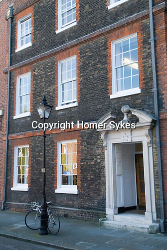Grays Inn No 1 Solicitors Chambers this is where Charles Dickens worked as an apprentice London UK