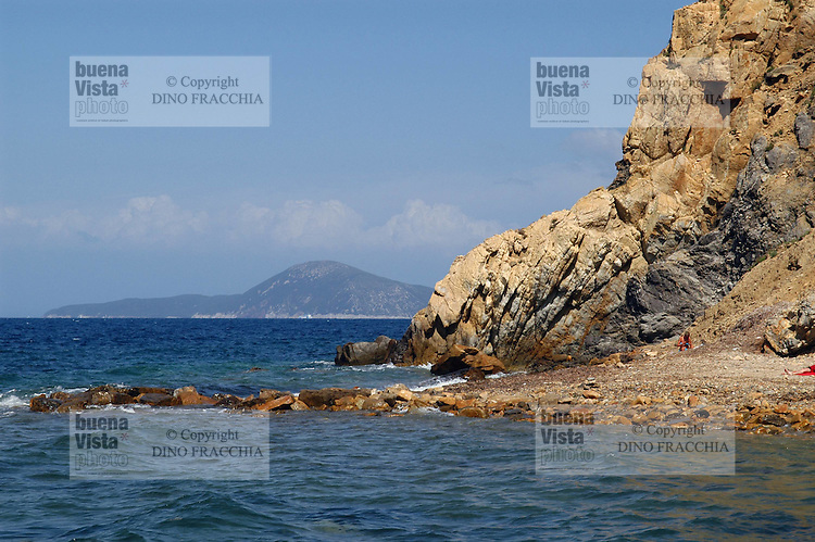 - island of Elba, cape of Enfola....- isola d'Elba, capo d'Enfola