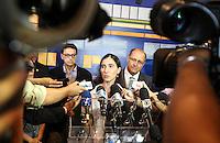 SAO PAULO, SP, 22 DE FEVEREIRO 2013 - YOANI SANCHEZ - MEMORIAL DA RESISTENCIA - A jornalista e blogueira Yoani Sánchez durante visita ao Memorial da Resistência na regiao central da capital paulista, nesta sexta-feira, 22.FOTO: VANESSA CARVALHO - BRAZIL PHOTO PRESS.