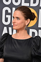 Amanda Peet at the 75th Annual Golden Globe Awards at the Beverly Hilton Hotel, Beverly Hills, USA 07 Jan. 2018<br /> Picture: Paul Smith/Featureflash/SilverHub 0208 004 5359 sales@silverhubmedia.com