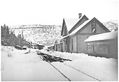 View of Vance Junction RGS facilities in winter.<br /> RGS  Vance Junction, CO  Taken by Kelley, Frank O. - 1940