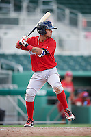 Boston Red Sox Everlouis Lozada (13) during an Instructional League game against the Minnesota Twins on September 23, 2016 at JetBlue Park at Fenway South in Fort Myers, Florida.  (Mike Janes/Four Seam Images)