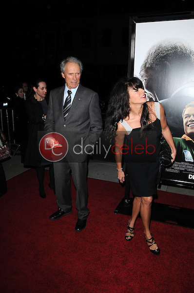 Clint Eastwood and Dina Eastwood<br />
