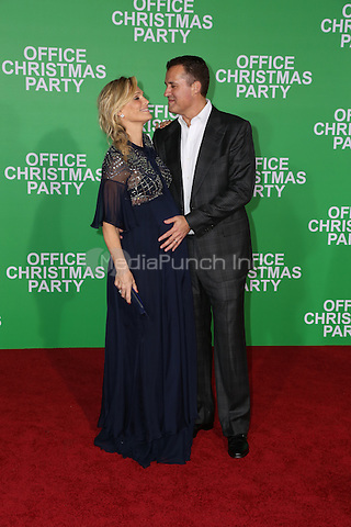 WESTWOOD, CA - DECEMBER 07: Molly Sims, Scott Stuber arrives at the premiere of Paramount Pictures' 'Office Christmas Party' at Regency Village Theatre on December 7, 2016 in Westwood, California.  (Credit: Parisa Afsahi/MediaPunch).