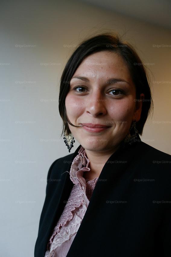 MEP Livia Jaroka, Les Roms European Summit Bruxelles September 2008..Nigel Dickinson..0612133170..nigeldickinson@mac.com