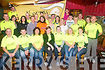 Kerry Crusaders : Members of the Kerry Crusaders pictured at Tankers Bar, Listowel on Saturday ptior to their departure to take part in the Dublin City Marathon. Included in the photo is Una Buckley (orange tee shirt) who will represent Kerry in the Spartan Challenge.