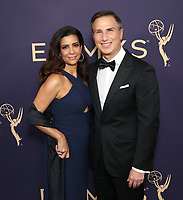 LOS ANGELES - SEPTEMBER 22: Paul Buccieri and Michelle Buccieri attend the 71st Primetime Emmy Awards at the Microsoft Theatre on September 22, 2019 in Los Angeles, California. (Photo by Brian To/Fox/PictureGroup)