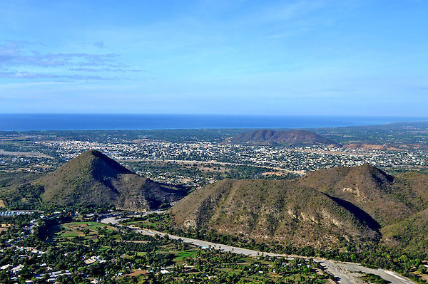 REPUBLICA DOMINICANA, RD, Diferentes vistas aerea de la zona sur del pais y de la capital  Santo Domingo..Lugar:Zona Sur, RD.Foto:Cesar de la Cruz.Fecha:.