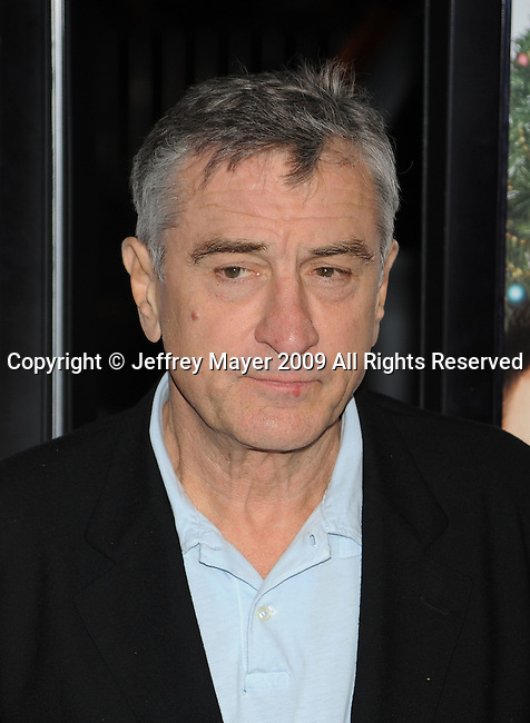 "HOLLYWOOD, CA. - November 03: Robert De Niro arrives at the AFI FEST 2009 Screening Of Miramax's ""Everbody's Fine"" on November 3, 2009 in Hollywood, California."
