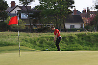 Matthew Jordan (Royal Liverpool) on the 15th green during Round 4 of the Lytham Trophy held at Royal Lytham &amp; St. Annes Golf Club on Sunday 6th May 2018.<br /> Picture:  Thos Caffrey / www.golffile.ie<br /> <br /> All photo usage must carry mandatory copyright credit (&copy; Golffile | Thos Caffrey)