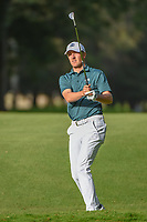 Jordan Spieth (USA) hits his approach shot on 6 during round 2 of the World Golf Championships, Mexico, Club De Golf Chapultepec, Mexico City, Mexico. 2/22/2019.<br /> Picture: Golffile | Ken Murray<br /> <br /> <br /> All photo usage must carry mandatory copyright credit (© Golffile | Ken Murray)