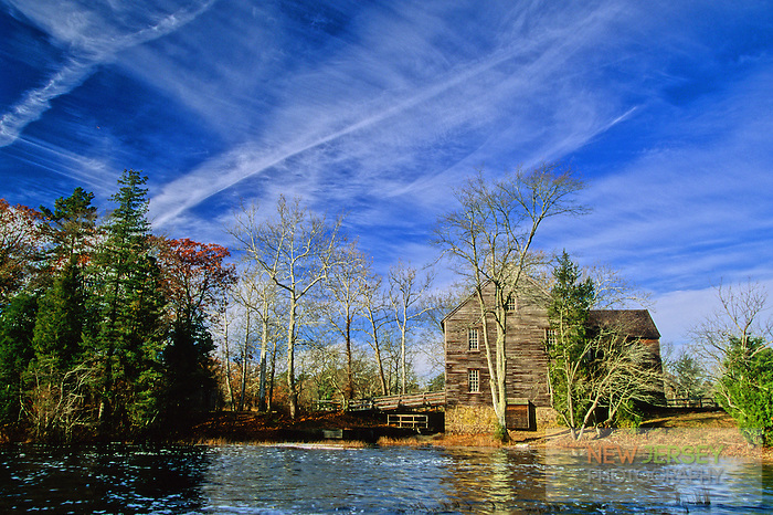 Batsto River and Sawmill.  Batsto, New Jersey