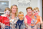 Having fun with their nana Nora O'Connor at the Castleisland Daycare centre family week on Wednesday was l-r: Russell, Noreen, Jack and Conor Carragher    Copyright Kerry's Eye 2008