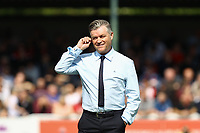 Welling United manager, Steve King  during Woking vs Welling United, Vanarama National League South Promotion Play-Off Final Football at The Laithwaite Community Stadium on 12th May 2019
