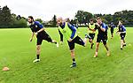 2018-06-25 / Voetbal / Seizoen 2018-2019 / Eerste training KVC Westerlo / Maxime Biset en Wouter Corstjens<br /> <br /> ,Foto: Mpics