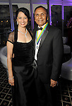 "Dr. Renu Khator and her husband Dr. Suresh Khator at the San Luis Salute ""Space Pirates"" VIP reception Friday February 24,2017. (Dave Rossman Photo)"