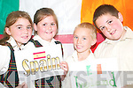 LEARNING: Enjoying the Listowel KDYS Multicultural Day on Thursday were pupils of the Gaelscoil Lios Tuathail Megan Ni Chiomnaith, Lauryn Ni Ghogain, Jade Griffin and Gavin O Conchuir.   Copyright Kerry's Eye 2008