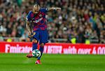 FC Barcelona's midfield Arturo Vidal seen in action during La Liga match. Mar 01, 2020. (ALTERPHOTOS/Manu R.B.)