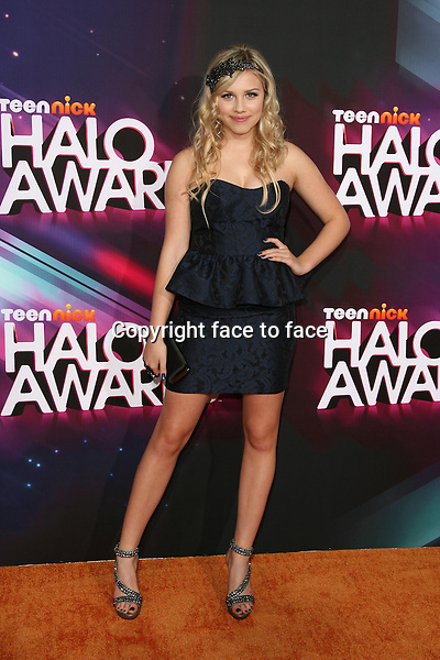 Gracie Dzienny at the TeenNick HALO Awards at The Hollywood Palladium on November 17, 2012 in Los Angeles, California. ..Credit: MediaPunch/face to face..- Germany, Austria, Switzerland, Eastern Europe, Australia, UK, USA, Taiwan, Singapore, China, Malaysia and Thailand rights only -