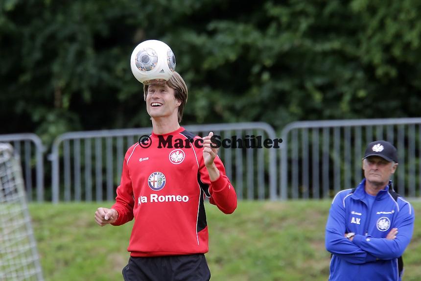 Martin Lanig (Eintracht) - Eintracht Frankfurt Trainingsauftakt