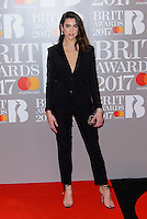 www.acepixs.com<br /> <br /> February 22 2017, London<br /> <br /> Dua Lipa arriving at The BRIT Awards 2017 at The O2 Arena on February 22, 2017 in London, England.<br /> <br /> By Line: Famous/ACE Pictures<br /> <br /> <br /> ACE Pictures Inc<br /> Tel: 6467670430<br /> Email: info@acepixs.com<br /> www.acepixs.com