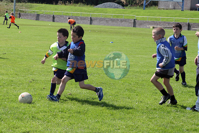 Final day of the GAA Cúl Camp...Photo NEWSFILE/Jenny Matthews.(Photo credit should read Jenny Matthews/NEWSFILE)....This Picture has been sent you under the condtions enclosed by:.Newsfile Ltd..The Studio,.Millmount Abbey,.Drogheda,.Co Meath..Ireland..Tel: +353(0)41-9871240.Fax: +353(0)41-9871260.GSM: +353(0)86-2500958.email: pictures@newsfile.ie.www.newsfile.ie.FTP: 193.120.102.198.