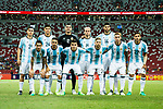Argentina squad pose for photos during the International Test match between Argentina and Singapore at National Stadium on June 13, 2017 in Singapore. Photo by Marcio Rodrigo Machado / Power Sport Images