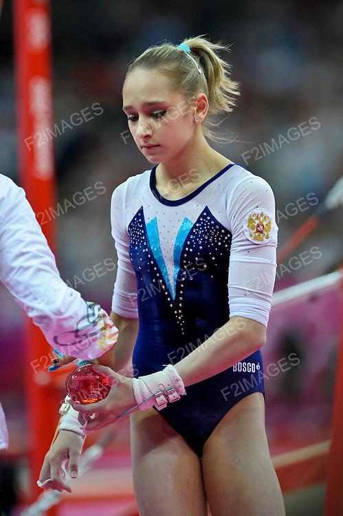 London 2012.  Gymnastics Individual Apparatus Finals 6.8.12  North Greenwich Arena . KOMOVA Victoria   Russia