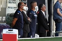 Diego Luis Lopez coach of Brescia Calcio looks on prior to the Serie A football match between ACF Fiorentina and Brescia Calcio at Artemio Franchi stadium in Florence ( Italy ), June 22th, 2020. Play resumes behind closed doors following the outbreak of the coronavirus disease. <br /> Photo Antonietta Baldassarre / Insidefoto
