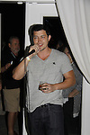 Christopher Sean sings - Karoake and Bartending at La Tavola Restaurant and Bar where Actors from Y&R, General Hospital and Days donated their time to Southwest Florida 16th Annual SOAPFEST - a celebrity weekend May 22 thru May 25, 2015 benefitting the Arts for Kids and children with special needs and ITC - Island Theatre Co. on May 24, 2015. (Photos by Sue Coflin/Max Photos)