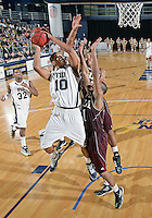 Florida International University guard Cameron Bell (10) plays against ULM, which won the game 54-50 on January 07, 2012 at Miami, Florida. .