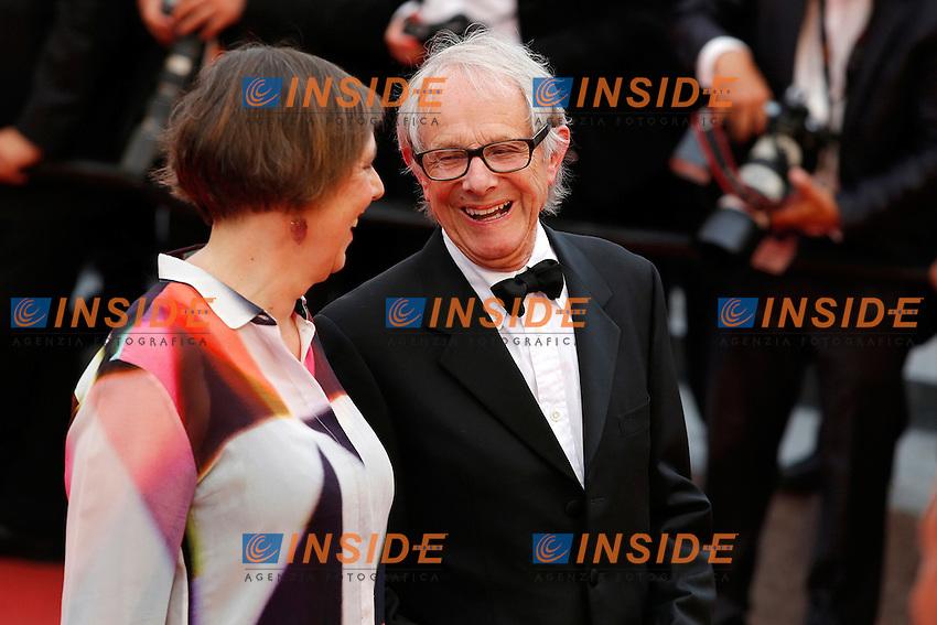 Ken Loach <br /> Festival del Cinema di Cannes 2016<br /> Foto Panoramic / Insidefoto