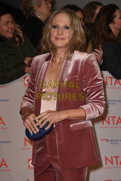 Kellie Bright  attending the National Television Awards 2018 at The O2 Arena on January 23, 2018 in London, England. <br /> CAP/Phil Loftus<br /> &copy;Phil Loftus/Capital Pictures